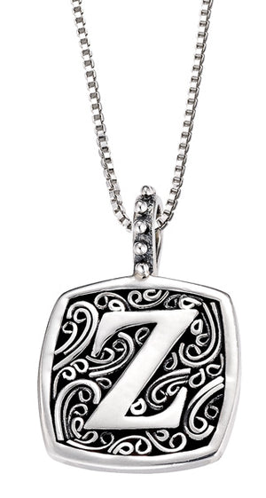 Sweets Initial Pendants - A to Z