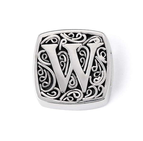 """W is for Wow Factor"" slide charm   from Bonn Bons by Lori Bonn (29920XW)"