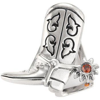 """Boot Scootin' Boogie"" slide charm"