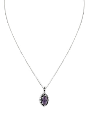 "February ""Secret Admirer"" Birthstone Necklace"