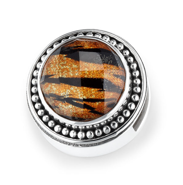 """Eye of the Tiger"" slide charm"