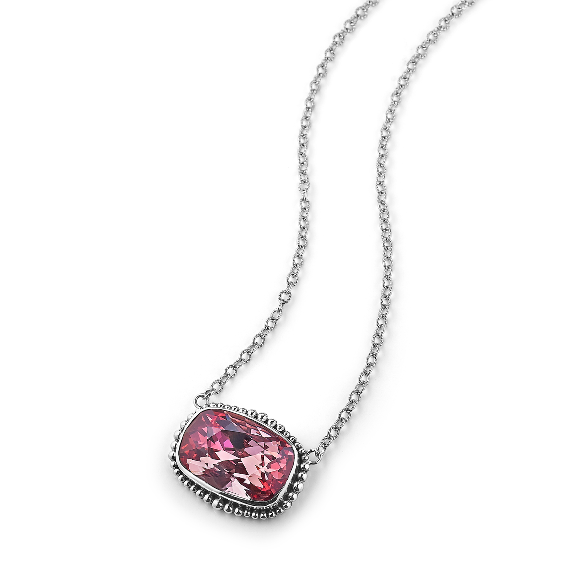 Spring Fling Solitaire Necklace
