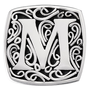 """M is for Memorable"" slide charm"