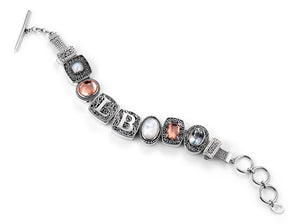 "The ""Lori Bonn Signature""  charm bracelet  from Get The Look by Lori Bonn (410100)"