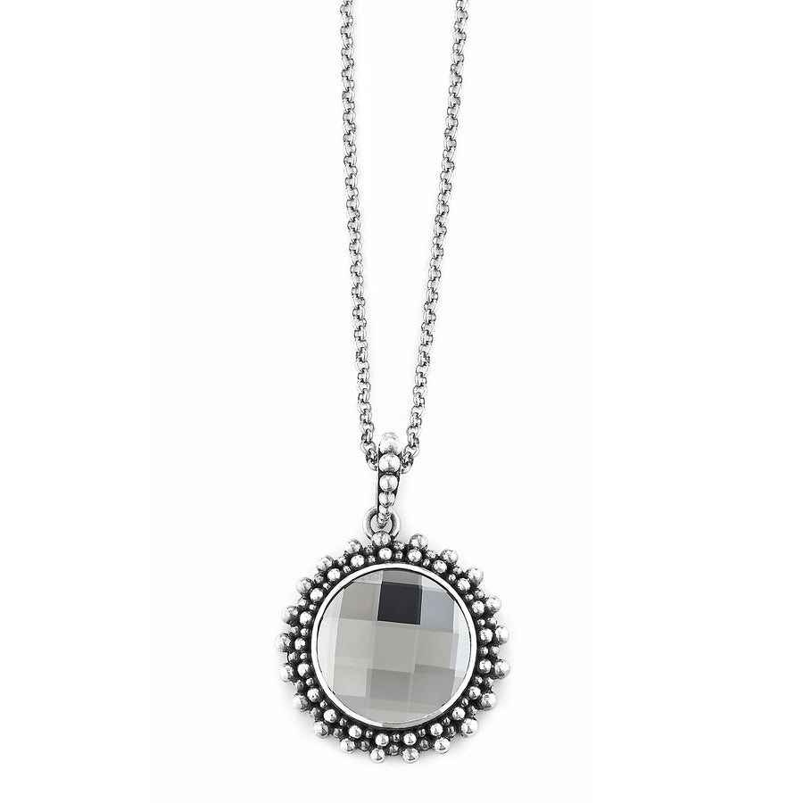 "Wham Glam Pendant on 18"" Chain by Lori Bonn (513403SWBDM)"