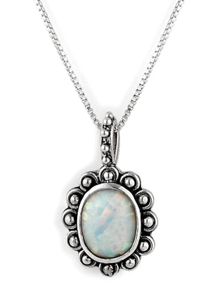 "October ""Trick or Sweet"" Birthstone Necklace from Bonn Bons Birthstone Necklaces by Lori Bonn (512910OPW)"