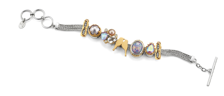 "The ""Always & Forever"" charm bracelet from Lori Bonn (413100)"