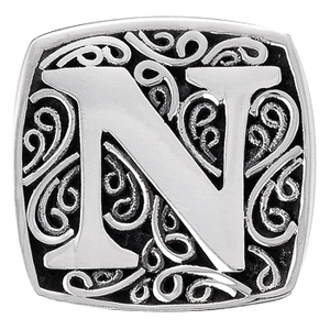 """N is for Naughty"" slide charm"