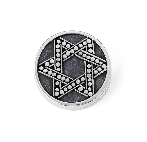 """Star of David"" slide charm   from Bonn Bons by Lori Bonn (29923)"
