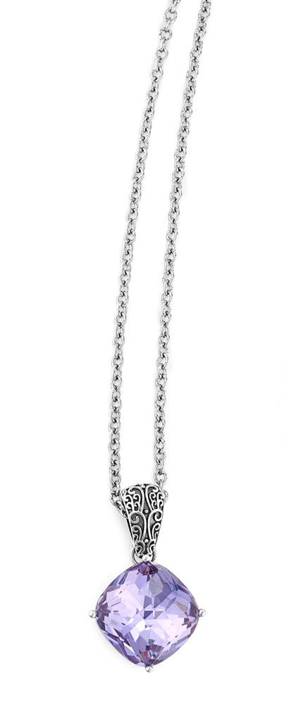 "Laven-Darling Pendant on 18"" Chain"