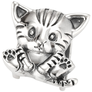 """Glamour Puss"" slide charm"