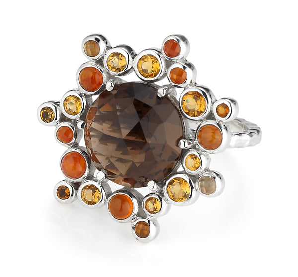 Gusto Cluster Ring from Collections by Lori Bonn (312502SQ)