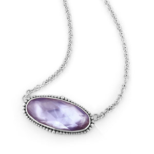 Saving Grace Solitaire Necklace by Lori Bonn (513401LVMOP)