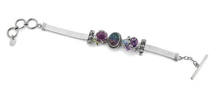 Her Royal Shine-ness Slide Charm Bracelet from Bonn Bons by Lori Bonn (413954)