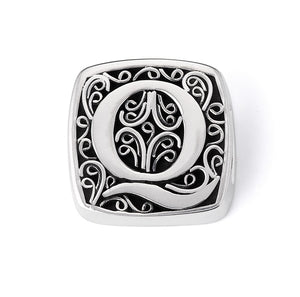 """Q is for Quirky"" slide charm  from Bonn Bons by Lori Bonn (29920XQ)"
