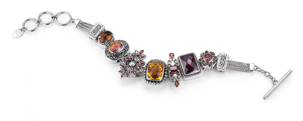 """The Harvest Hottie"" bracelet from Bonn Bons by Lori Bonn (411130)"
