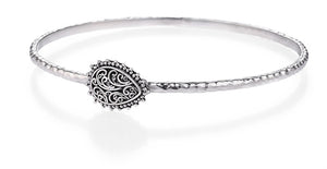 wanderlust pear bangle