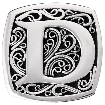 """D is for Daring"" slide charm  from Bonn Bons by Lori Bonn (29920XD)"