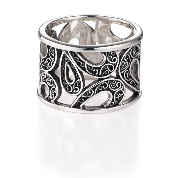 Wanderlust band ring from Lori Bonn Collections by Lori Bonn (311501)
