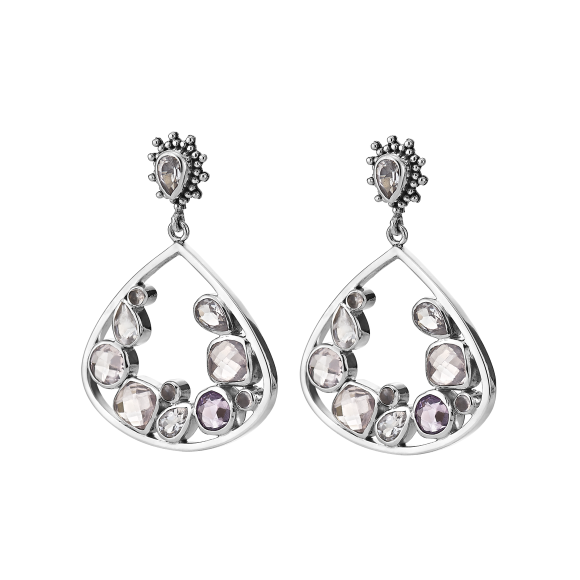 Pinking of You Earrings from Bonn Bons by Lori Bonn (115206RS)