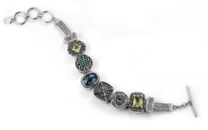 """The Tree Hugger"" charm bracelet from Get the Look by Lori Bonn (410103)"