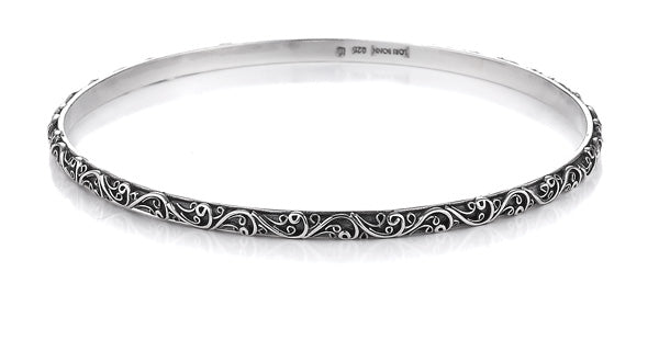 wanderlust filigree bangle