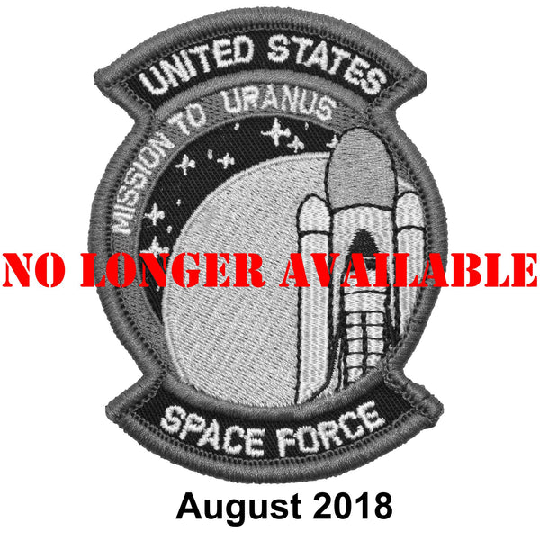 The Tactical Gear Junkie Patch of the Month - August - United States Space Force