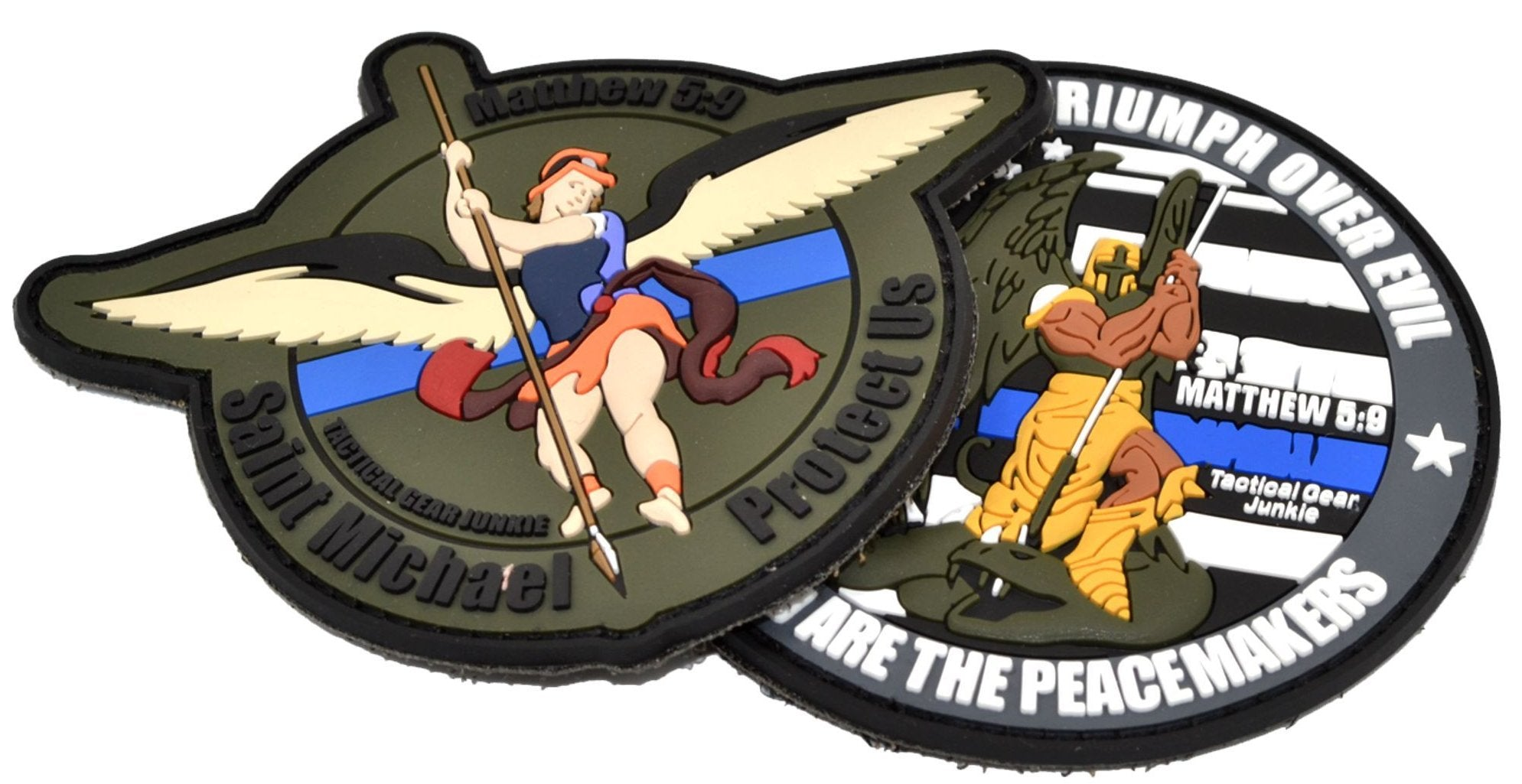 Custom Made PVC Patches