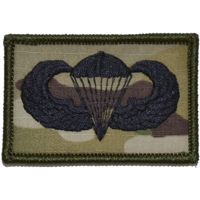 Tactical Gear Junkie Patches MultiCam Parachute Jump Wings - 2x3 Patch
