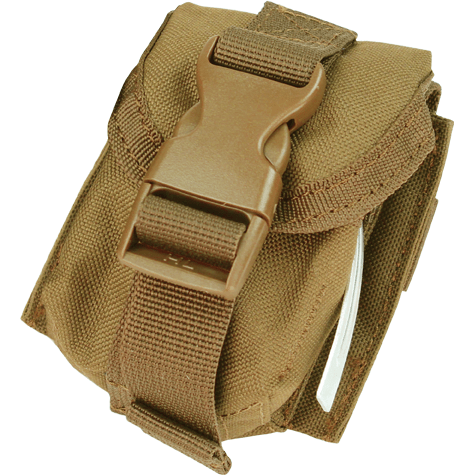 Condor Tactical Gear Coyote Brown Condor Single Frag Grenade Pouch