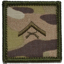 USMC Rank Insignia - 2x2 Patch