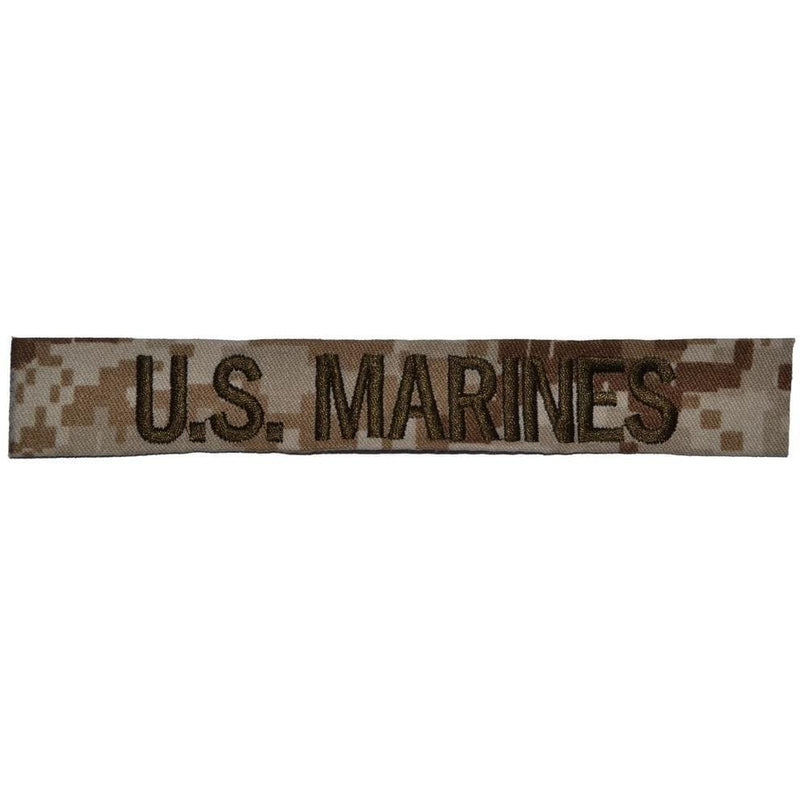 Tactical Gear Junkie Name Tapes Single Custom Name Tape - SEW ON - Desert Marpat