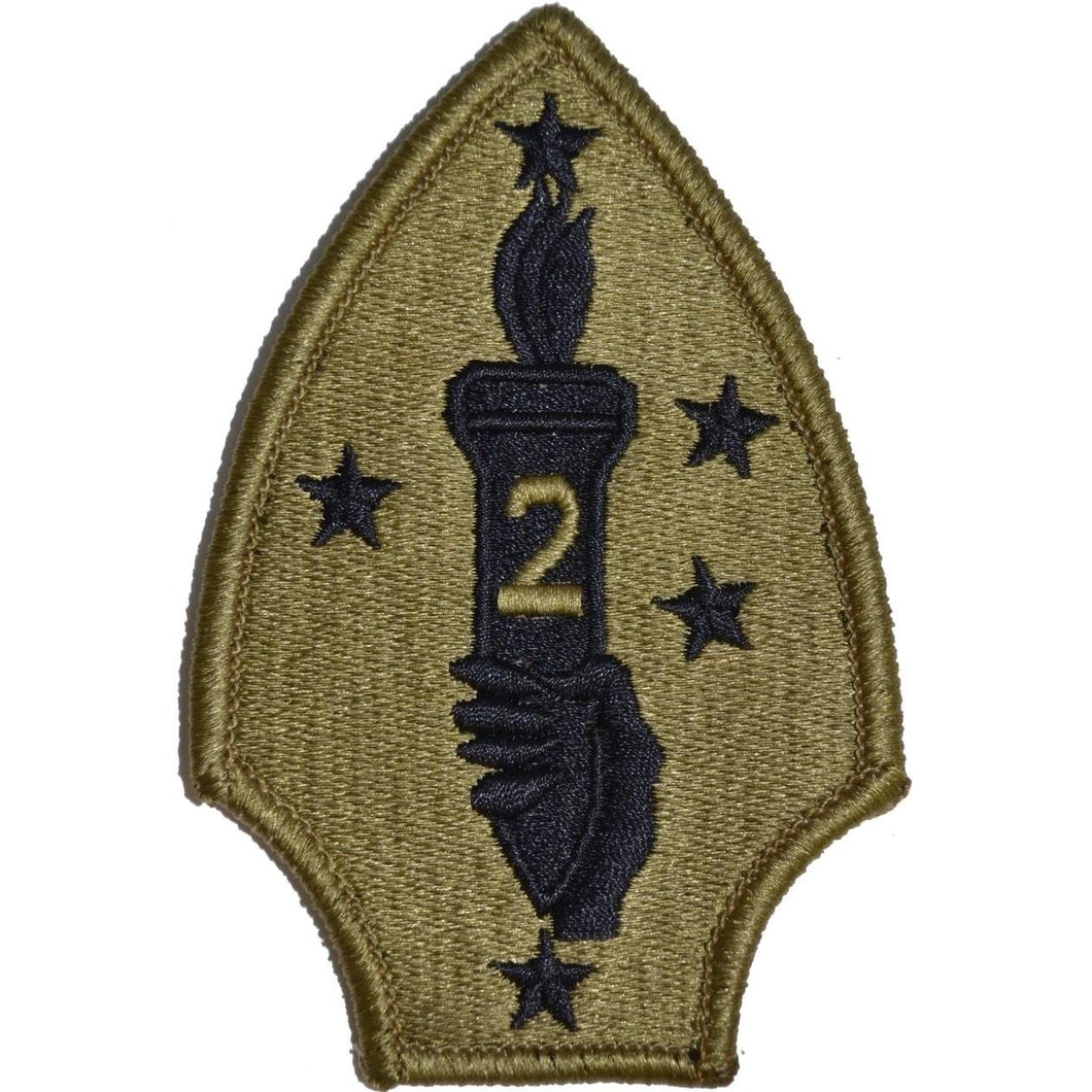 2nd Marine Division Patch Multicam/OCP/Scorpion