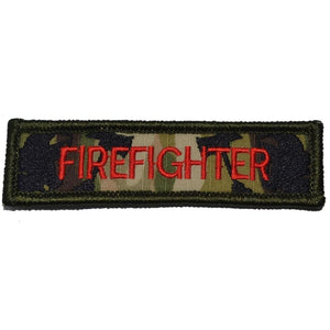 Firefighter Nametape - 1x3.75 Patch
