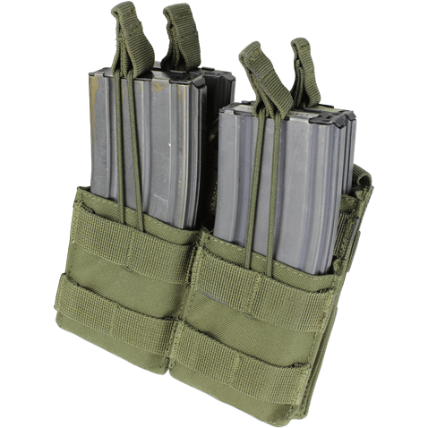 Condor Tactical Gear Olive Drab Condor Double Stacker M4 Mag Pouch