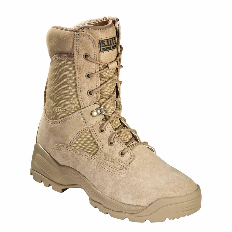 5.11 Tactical Apparel 5.11 Tactical ATAC 8  Coyote Boot with Side Zip