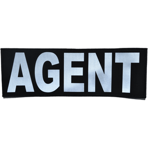 Reflective Agent Patch - 4inch x 12inch