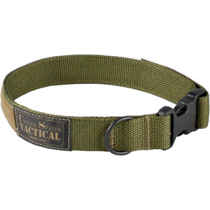 United States Tactical Dog Collar with Quick-Release Buckle