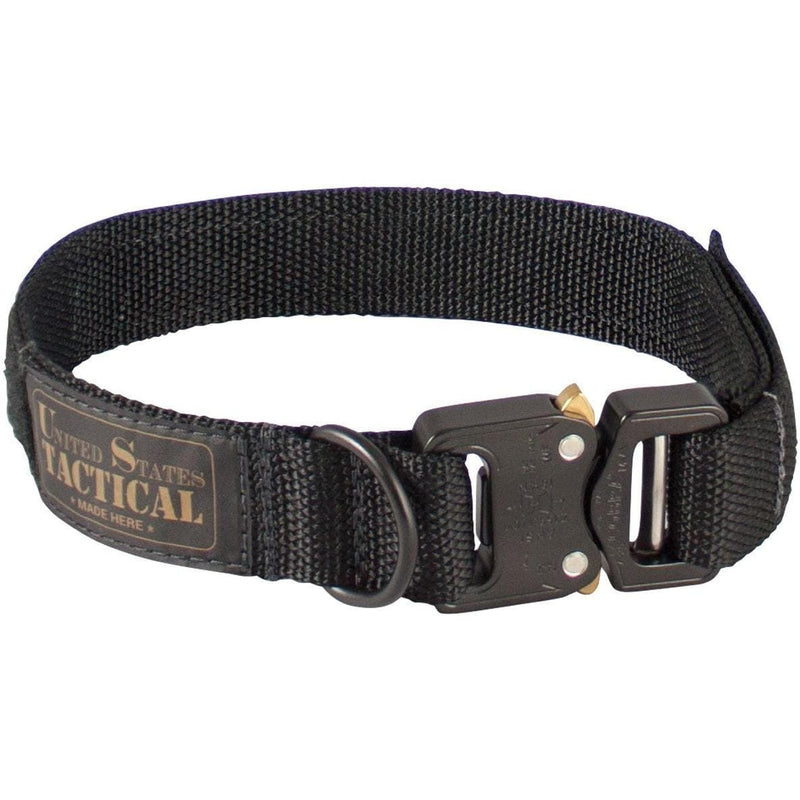 United States Tactical Tactical Gear M / Black United States Tactical Dog Collar with COBRA Buckle