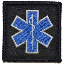 Star of Life EMT - 2x2 Patch