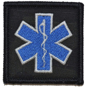 EMT Star of Life Caduceus - 2x2 Patch
