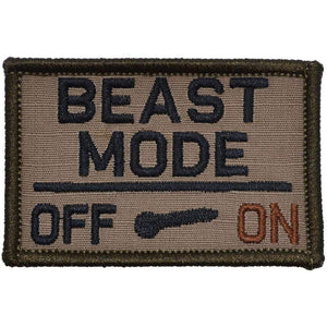 BEAST MODE Activated - 2x3 Patch