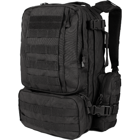 Condor Tactical Gear Black Condor Convoy Outdoor Pack