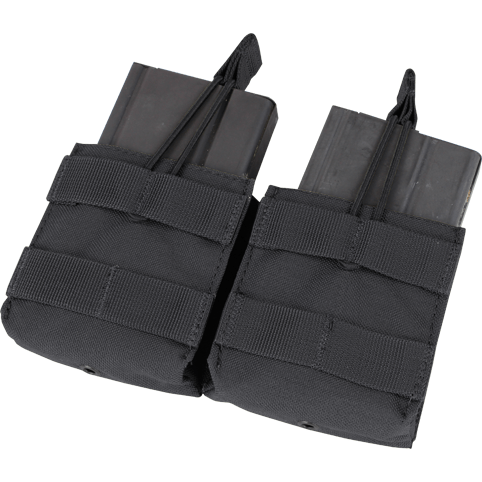 Condor Tactical Gear Black Condor Double Open-Top M14 Mag Pouch