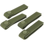 "Condor Tactical Gear Olive Drab Condor Modular Web Straps (4"") Pack of 4"