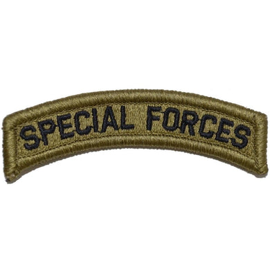 Special Forces Tab Patch Multicam/OCP/Scorpion