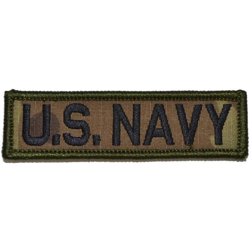 Tactical Gear Junkie Patches MultiCam U.S. Navy - 1x3.75 Patch