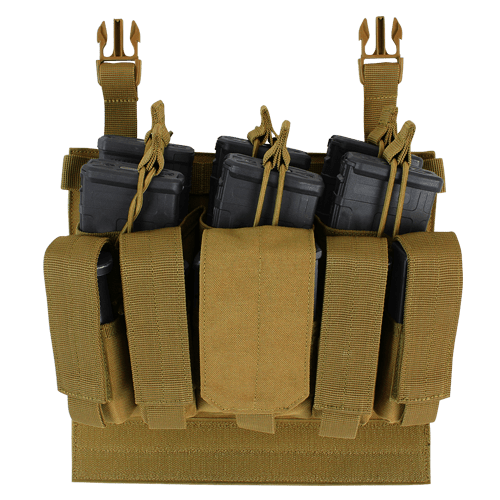Condor Tactical Gear Coyote Brown Condor VAS Recon Mag Pouch