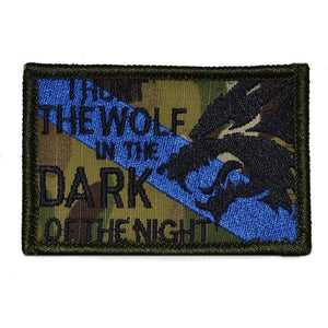 Sheepdog Hunt The Wolf - 2x3 Patch