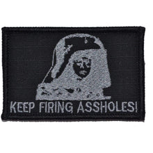 Spaceballs Dark Helmet Keep Firing Assholes! - 2x3 Patch
